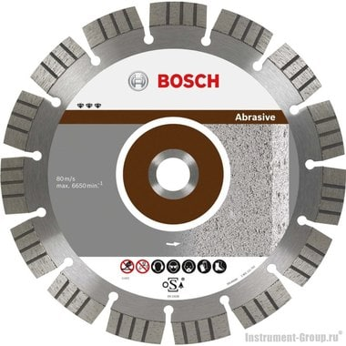 Алмазный диск Best for Abrasive (180x22,23 мм) Bosch 2608602682
