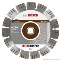 Алмазный диск Best for Abrasive (230x22,23 мм) Bosch 2608602683