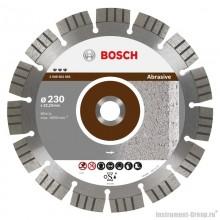 Алмазный диск Best for Abrasive (230x22,23 мм) Bosch 2608602683