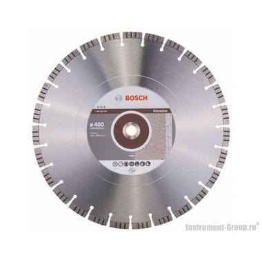 Алмазный диск Best for Abrasive (400x20/25,4 мм) Bosch 2608602687