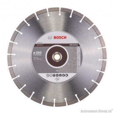 Алмазный диск Expert for Abrasive (350x20/25,4 мм) Bosch 2608602612