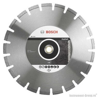 Алмазный диск Standard for Asphalt (300x20/25,4 мм) Bosch 2608602624