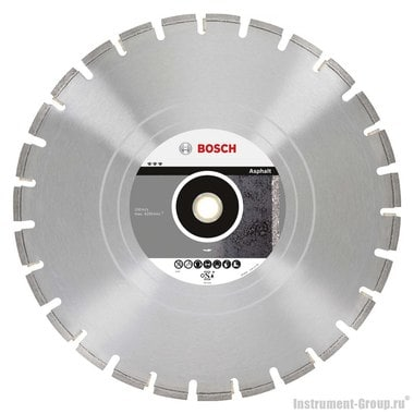 Алмазный диск Best for Asphalt (500x25,4/30 мм) Bosch 2608602519
