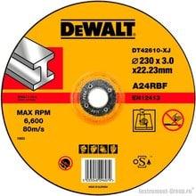 Диск отрезной по металлу DeWalt DT 42610 (230х22.2х3 мм)