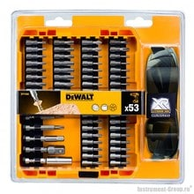 Набор бит 53 предмета DeWalt DT 71550