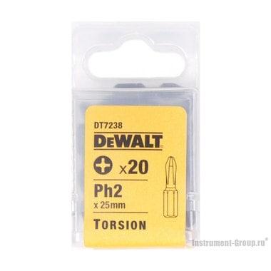 Биты Рh2 (25 мм; 20 шт.) DeWalt DT 7238
