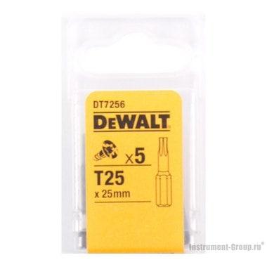 Биты Тоrх Т25 (25 мм; 5 шт.) DeWalt DT 7256