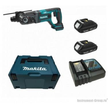 Аккумуляторный перфоратор 18 В Makita DHR241SYE