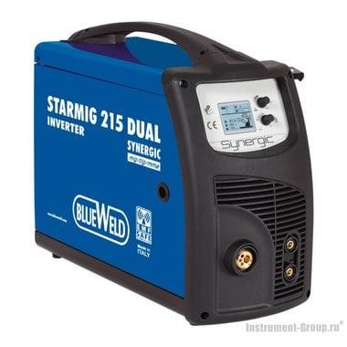 Инверторный сварочный полуавтомат BlueWeld STARMIG 215 DUAL SYNERGIC
