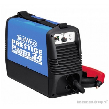 Инвертор плазменной резки BlueWeld PRESTIGE PLASMA 34 KOMPRESSOR