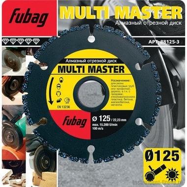 Алмазный диск Multi Master (125x22.2 мм) Fubag 88125-3