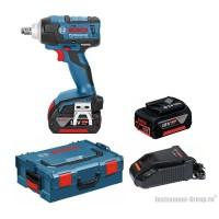 Аккумуляторный гайковерт Bosch GDS 18 V-EC 250 L-Boxx (06019D8120)