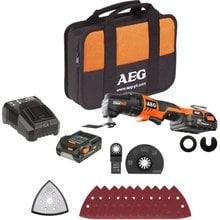 Аккумуляторный многофункциональный инструмент AEG 446705(OMNI18C LI-202BKIT1X)