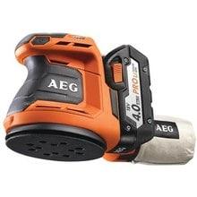 Аккумуляторная эксцентриковая шлифмашина AEG 451086(BEX18-125-0)