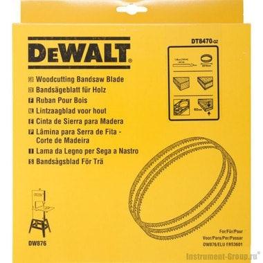 Полотно по дереву и пластику DW876 DeWalt DT 8470 (2215х4х0,6 мм)