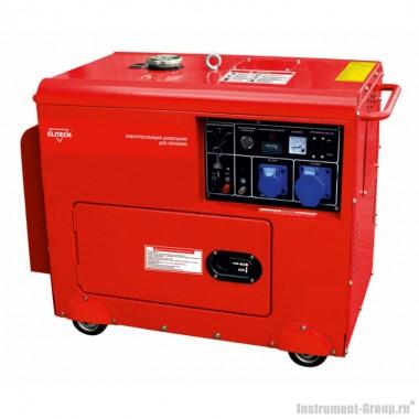 Дизельный генератор Elitech ДЭС 5500 ЕMК