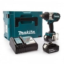 Аккумуляторный ударный гайковерт 18 В Makita DTW1001RTJ
