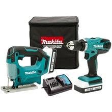 Набор аккумуляторных инструментов Makita DK18298X1