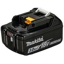 Аккумулятор 18 В BL1830B Makita 197600-6 (18 В; 3 Ач; Li-Ion) с индикацией заряда