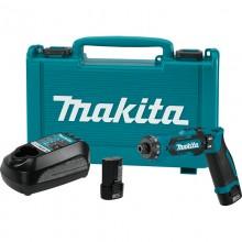 Аккумуляторная отвертка Makita DF012DSE