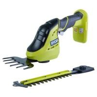 Аккумуляторный ножницы для травы + кусторез ONE+ Ryobi 3002830(OGS1822)