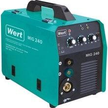 Инверторный сварочный полуавтомат WERT MIG 240
