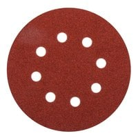 Круглая шлифбумага Elitech 1820.038100 (125 мм; P60; 5 шт; для дерева,металла)