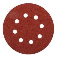 Круглая шлифбумага Elitech 1820.038300 (125 мм; P100; 5 шт; для дерева,металла)