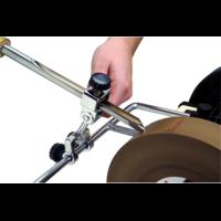 Приспособление для заточки овальных стамесок с конусным и полукруглым жалом Elmos E60257 (для BG200/BG220)