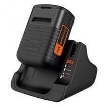 Быстрозарядное устройство 36 В + аккумулятор 36 В, 2.0 Ач Black&Decker BDC2A36