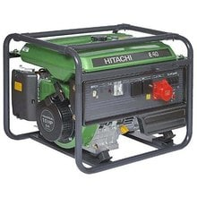 Генератор бензиновый Hitachi E40 3P