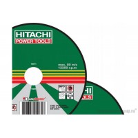 Диск отрезной по метуллу Hitachi 18016HR (180х22х1,6 мм)