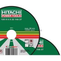 Диск отрезной по металлу Hitachi 23020HR (230х22,2х2 мм)