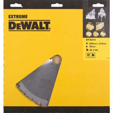 Диск пильный по дереву DeWalt DT 4210 (305х30х1.8 мм; 32 зуб.)