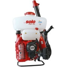 Бензиновый ранцевый распылитель Solo 423 port  + удлинит. трубка 60 см + жидк.насос + 1 л масла