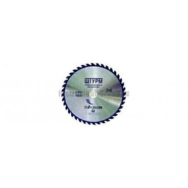 Диск пильный Штурмштайн RJ200.60.30 (200х30мм; 60 зуб; по дереву)