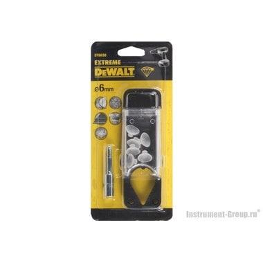 Сверло для плитки 6 мм с системой подачи воды DeWalt DT 6038