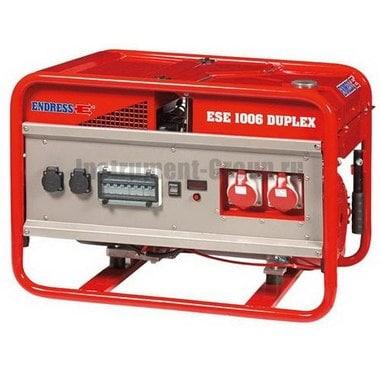 Генератор бензиновый ENDRESS ESE 1006 SG-GT ES Duplex (113160)