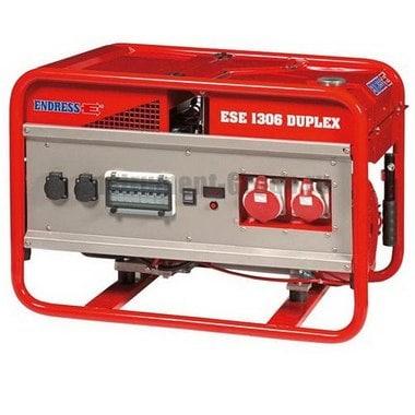 Генератор бензиновый ENDRESS ESE 1306 DSG/A-GT ES Duplex (113216)