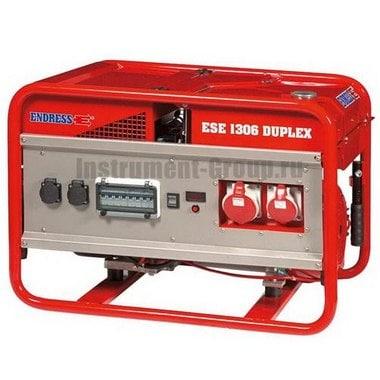 Генератор бензиновый ENDRESS ESE 1306 DSG-GT ES Duplex (113158)