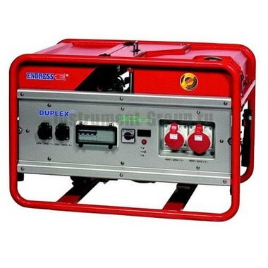 Генератор бензиновый ENDRESS ESE 1506 DSG-GT/A ES Duplex + Шланг для отвода выхлопных газов 1.5 м 1
