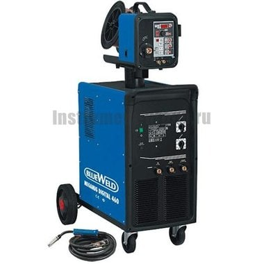 Цифровой сварочный полуавтомат BlueWeld Megamig Digital 460