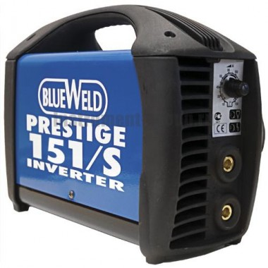Сварочный инвертор BlueWeld Prestige 151/S в кейсе + набор принадлежностей