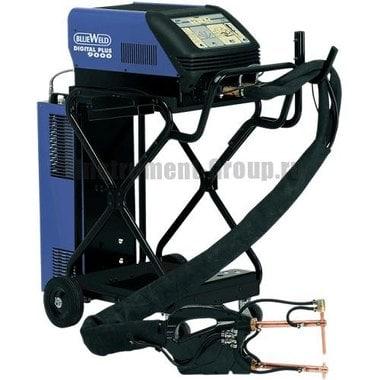 Аппарат точечной сварки BlueWeld DIGITAL PLUS 9000 + электрододержатель 801045 + тележка 803046