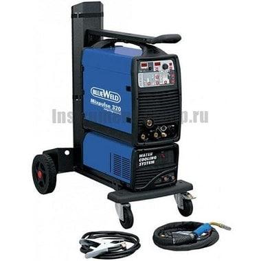 Сварочный полуавтомат BlueWeld Mixpulse 320 MIG/TIG/MMA + набор аксессуаров 802591