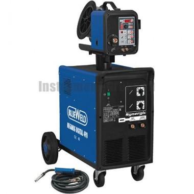 Цифровой сварочный полуавтомат BlueWeld MEGAMIG DIGITAL 490 SYNERGIC