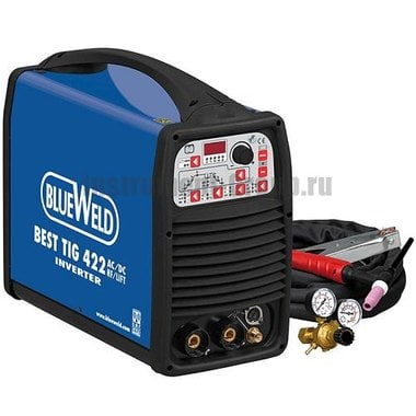 Сварочный инвертор BlueWeld BEST TIG 422 AC/DC HF/Lift + аксессуары 802607