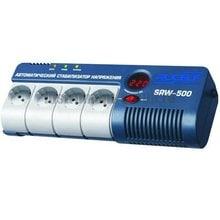 Стабилизатор напряжения однофазный цифровой Rucelf SRW-500-D (настенный)