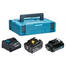 Аккумулятор + зарядное устройство Makita 199024-2 (10.8\12\18В; 2.0\5.0Ач; Li-ion)