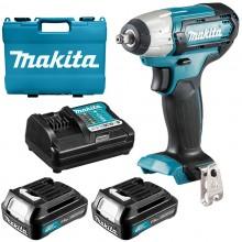 Аккумуляторный ударный гайковерт Makita TW140DWAE